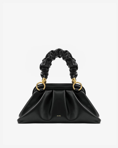 Cloud Top Handle Bag - Black
