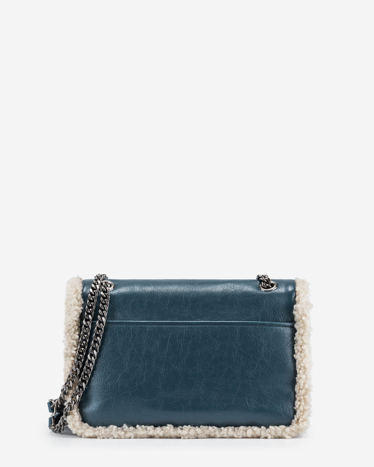 Isa Crossbody Bag - Dark Blue