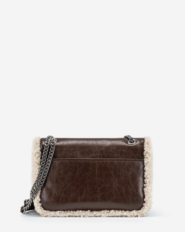 Isa Crossbody Bag - Dark Brown