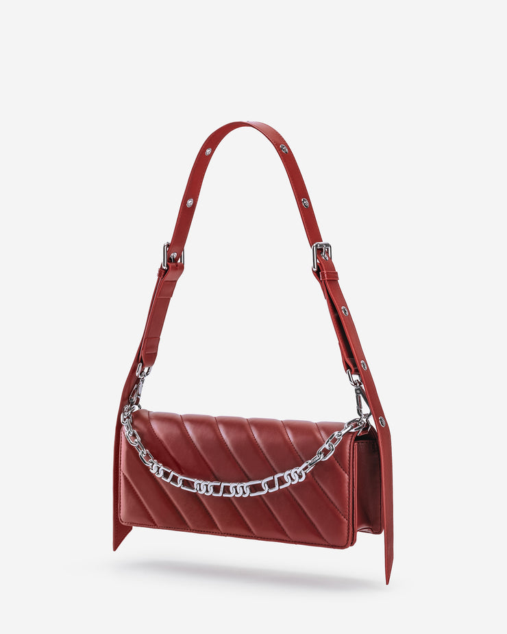 Sophie Crossbody Bag - Wine Red