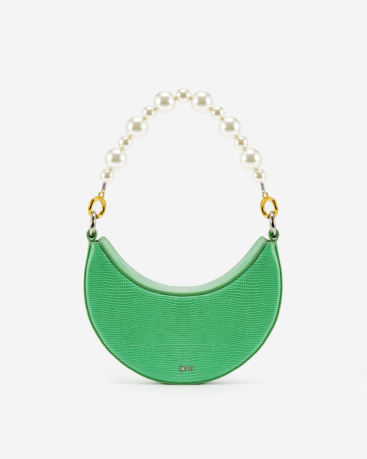Carly  Small Crossbody Bag - Grass Green