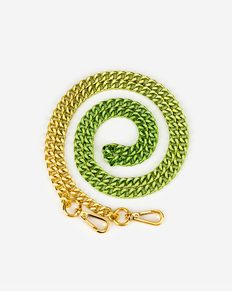 Aria Gradient Chain Strap - Green