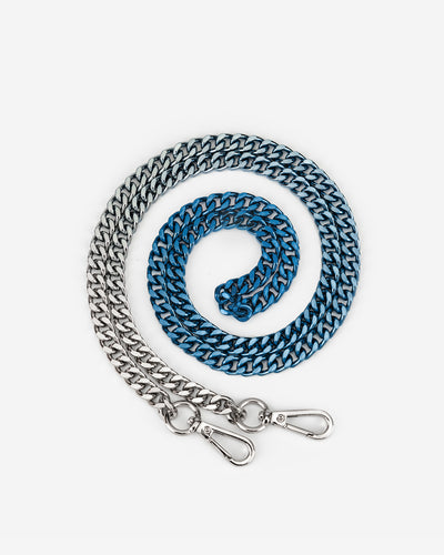 Aria Gradient Chain Strap - Blue