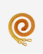 Aria Gradient Chain Strap - Orange