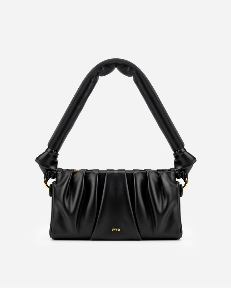 Mila Shoulder Bag - Black