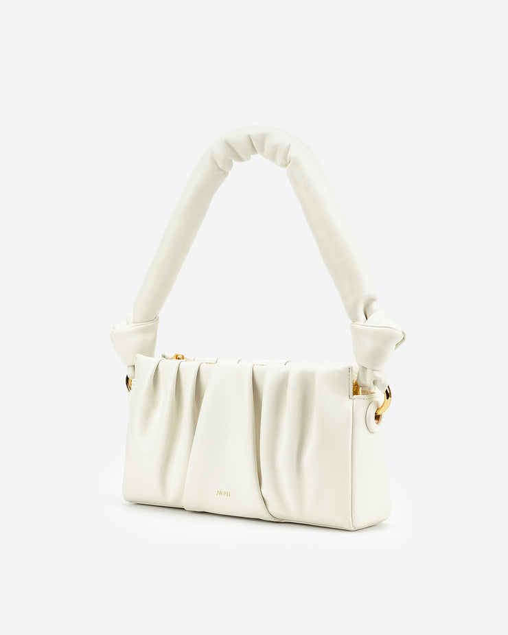 Mila Shoulder Bag - Ivory