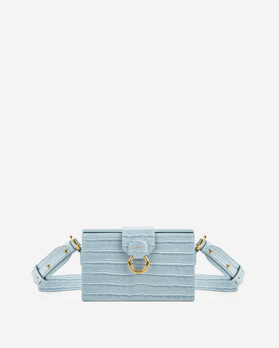 Grace Box Bag - Ice Croc