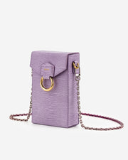 Lola Chain Phone Case - Purple Lizard
