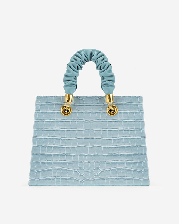 Ella Top Handle Bag - Ice Croc