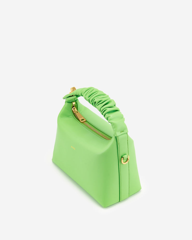 Cora Top Handle Bag - Lime Green