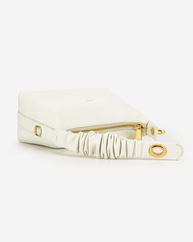 Cora Top Handle Bag - White