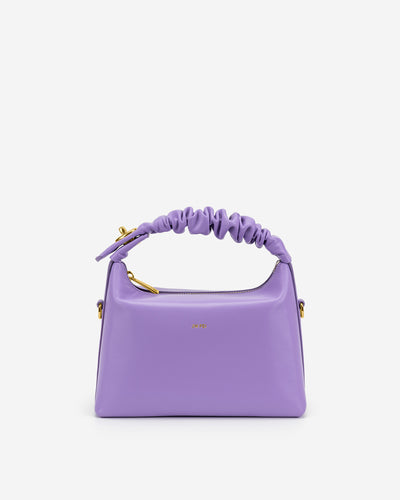 Cora Top Handle Bag - Purple