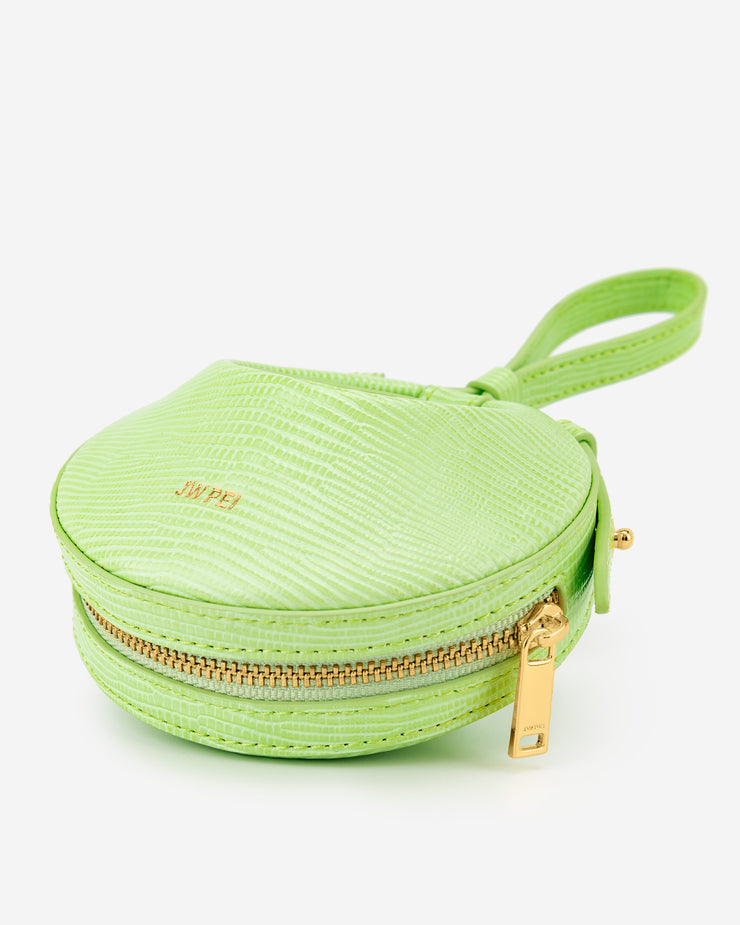 Rantan Super Mini Bag - Lime Green Lizard