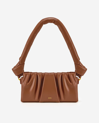Mila Shoulder Bag - Brown
