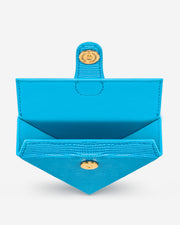 Triangle Mini Box - Lake Blue Lizard