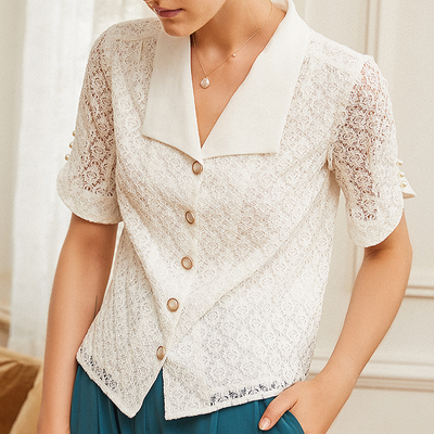 Celia Lace Blouse