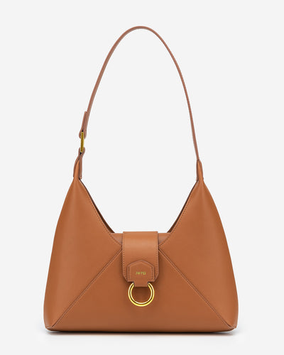 Stella Shoulder Bag - Tan