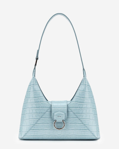 Stella Shoulder Bag - Ice Croc
