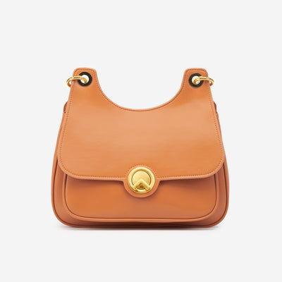 The Hobo Shoulder Bag - Caramel