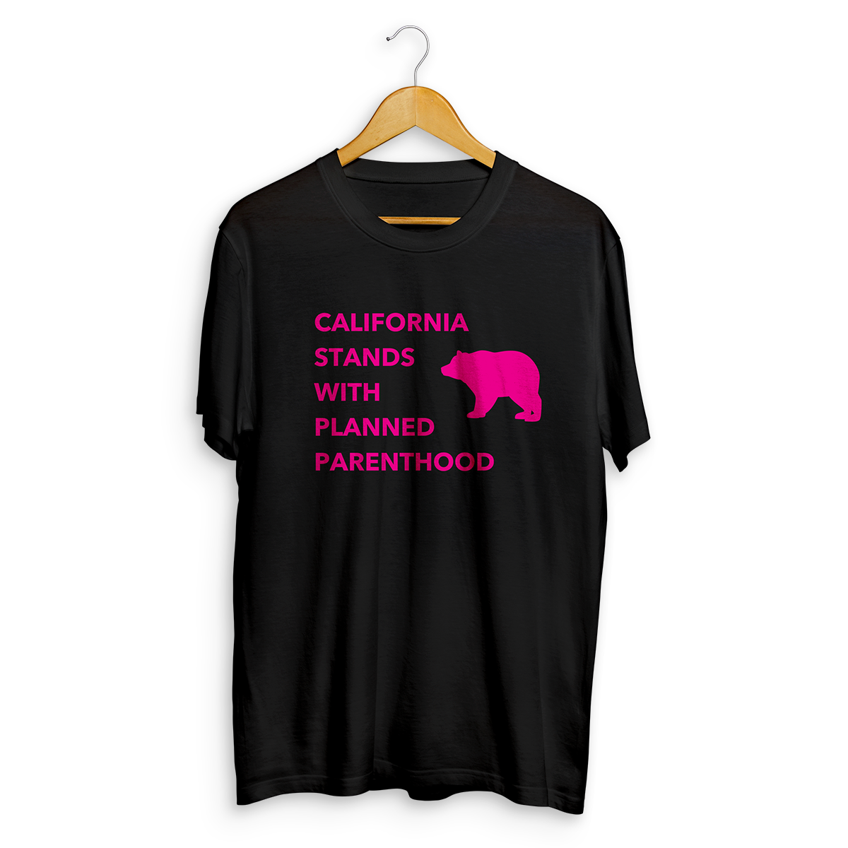 CA Stands With Planned Parenthood T-shirt