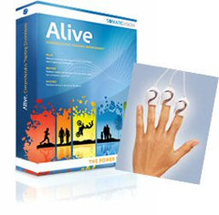 Alive software for IOM finger sensors