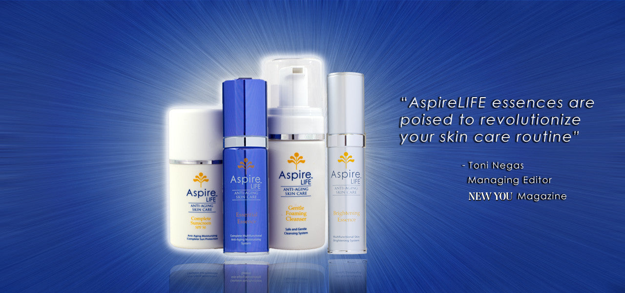 AspireLIFE Anti-Aging Skin Care Complete Set New You Essence