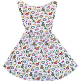 Santa's Little Helper Hepburn Dress