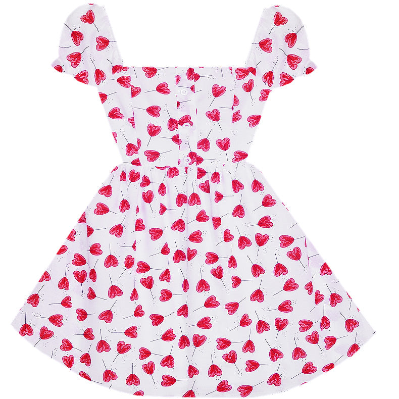Heart Shaped Lollipops Dress