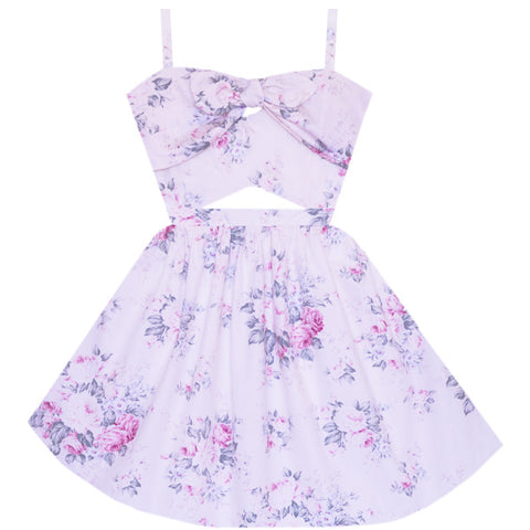 Garden Tea Time Cutout Dresss