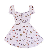 Hearts a Flutter Butterfly 2 Piece Dress