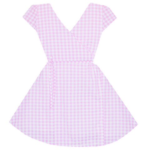 Darling Picnic Wrap Dress