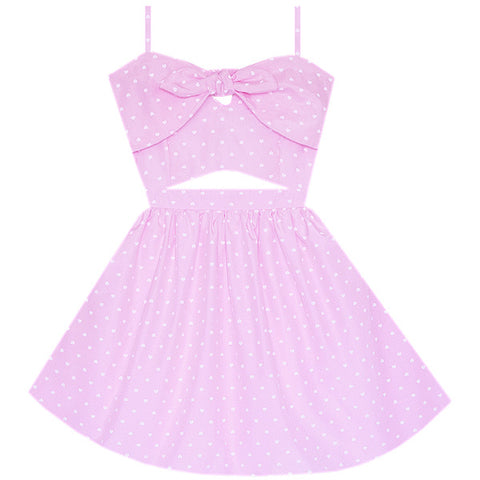 Blushing Beauty Cutout Dress