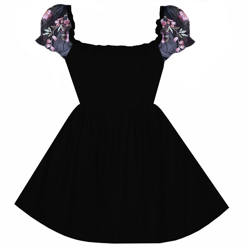 Midnight Garden Party Melanie Dress