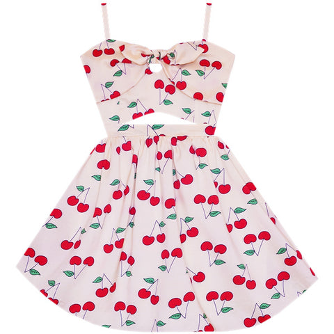 Cherry On Top Cutout Dress