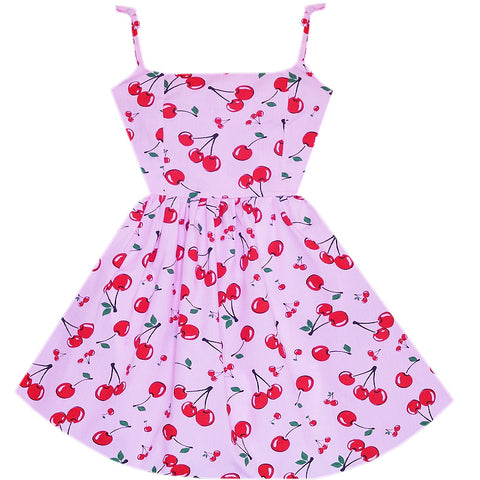 Cherry Bomb Marilyn Mini Dress with Pockets