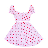 Strawberry Cute 2 Piece Dress