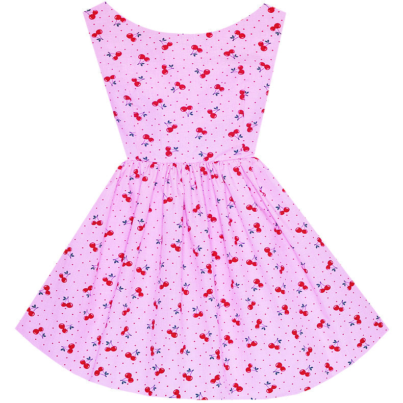 Cherry Pinup Hepburn Dress