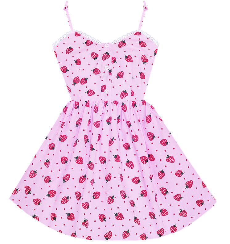 Berry Cute Darling Dress with Pockets