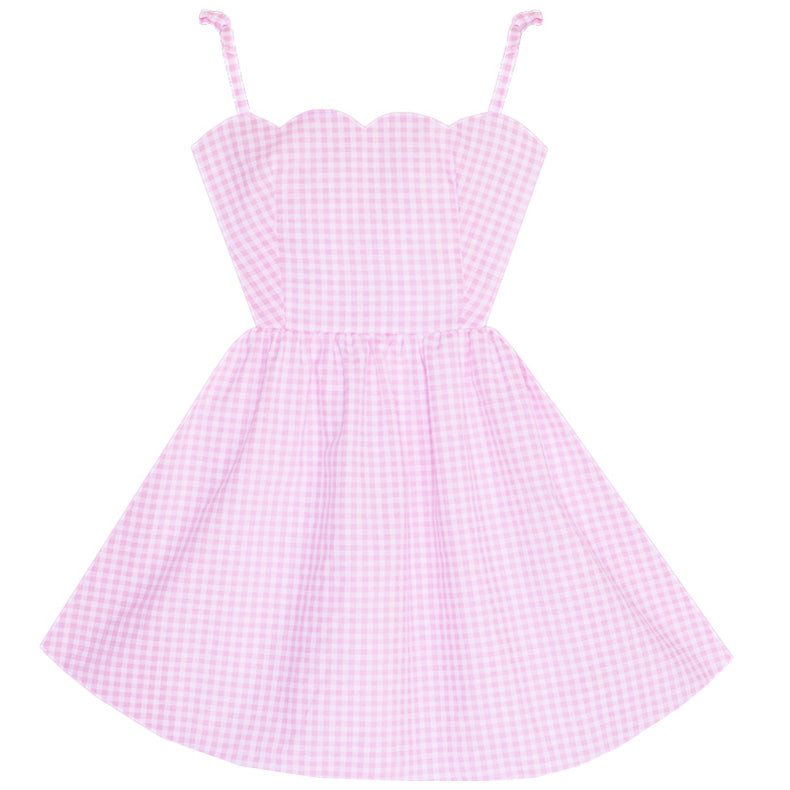 Pretty Pastel Picnic Sandy Dress