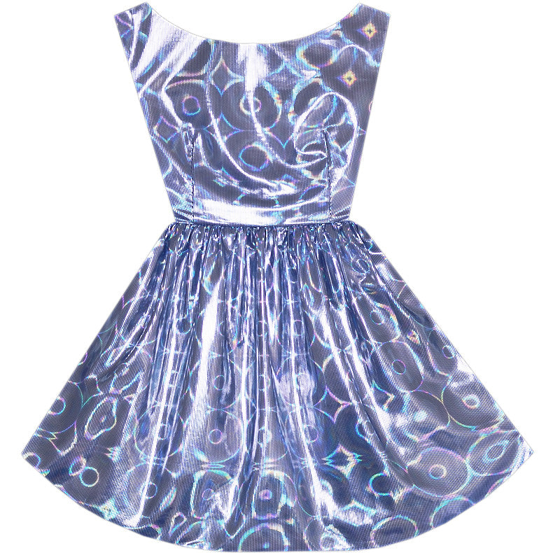 Cosmic Cutie  Hologram Hepburn Dress