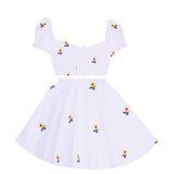 Sweet Sunflower 2 Piece Dress