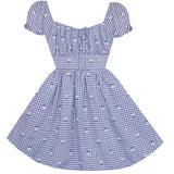 Retro Picnic Betty Dress with Pockets