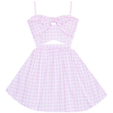 Pretty Picnic Cutout Dress