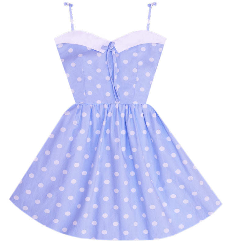 Elsa Retro Sailor Dress with Pocket
