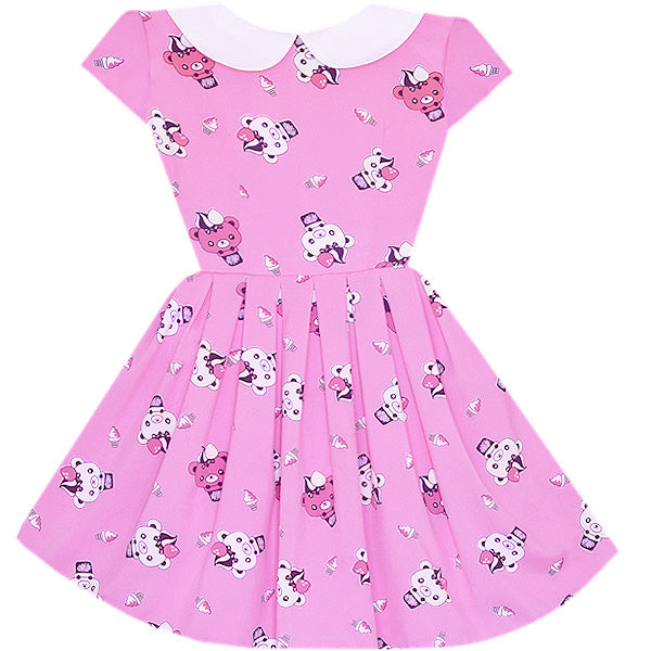 Teddy Bear Ice Cream Wendy Dress