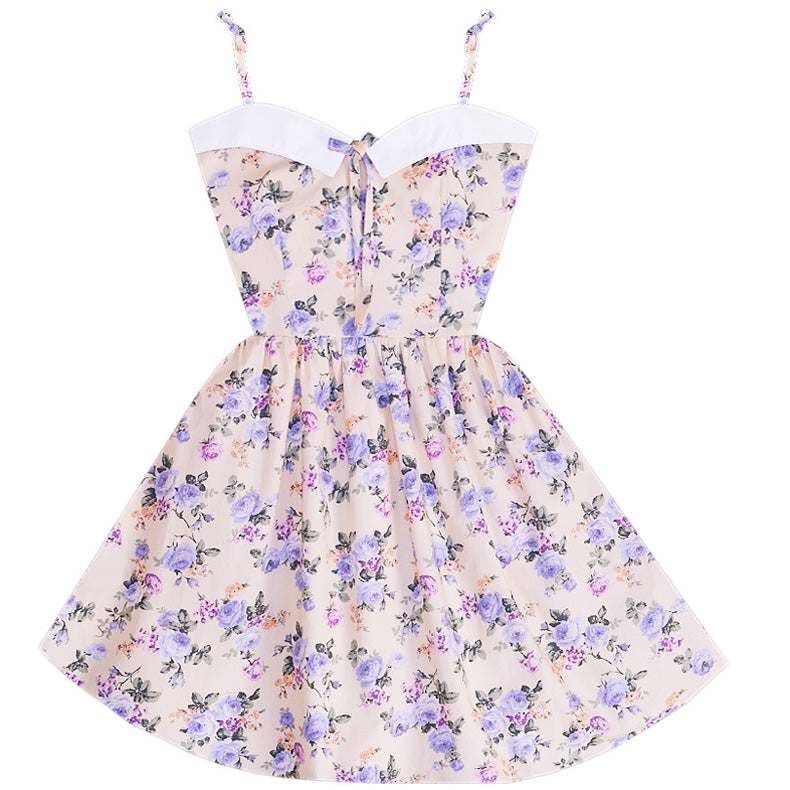 Budding Romance Retro Sailor Dress with Pockets