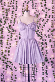 Lavender Tea 2 Piece Dress with Pockets