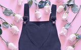 Midnight Heart Overalls