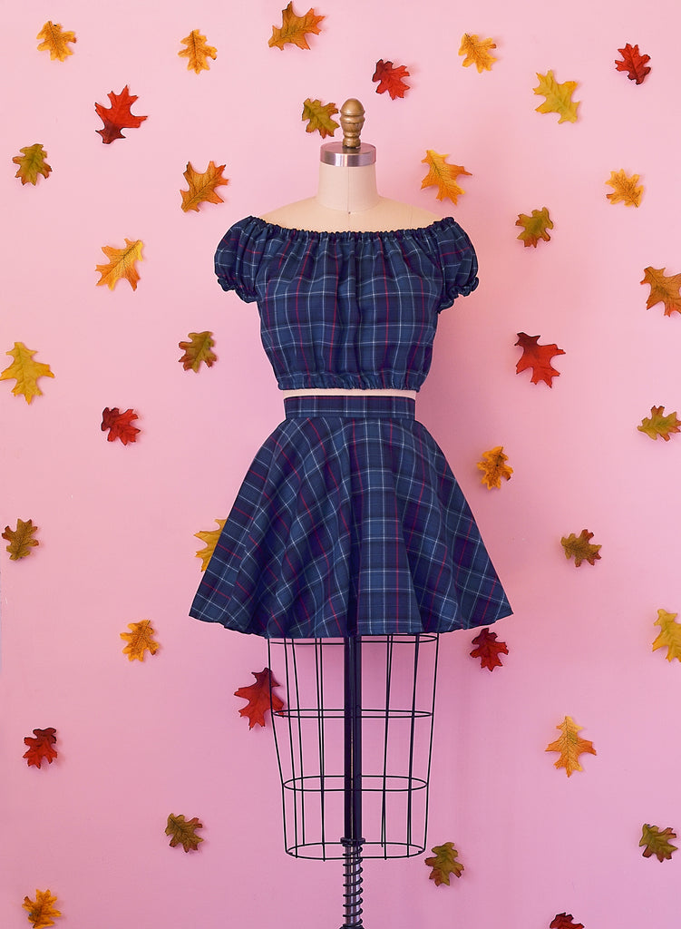 Mad for Plaid 2 Piece Dress