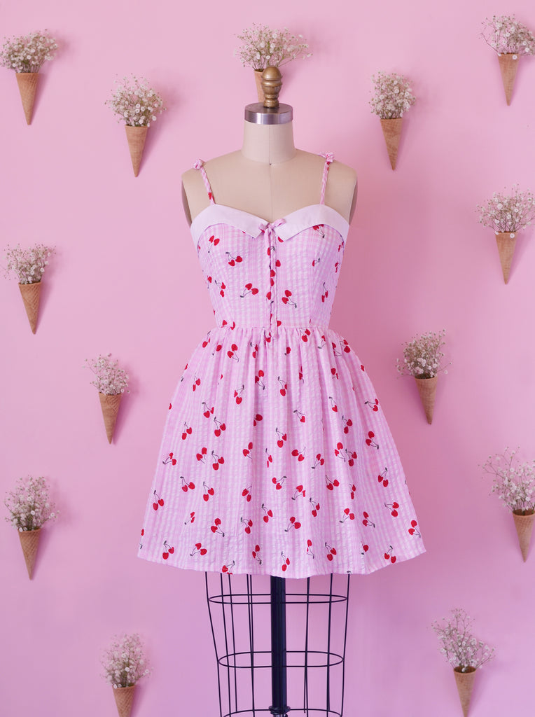 Cherry Pie Serena Dress with Pockets
